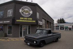 Classic Chevy Truck Audio Upgrades for Abbotsford Client