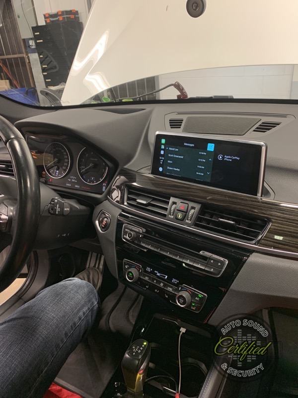Langley BMW Owner Adds X1 Apple CarPlay Solution