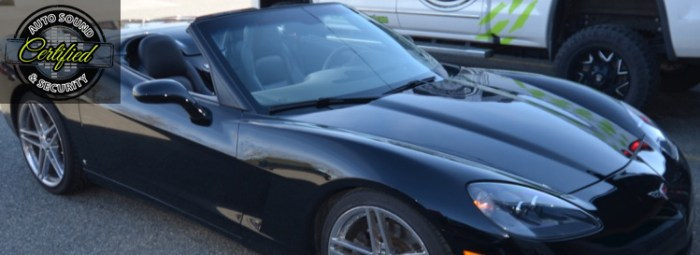 Loud Audio System Upgrade for Abbotsford Corvette Owner