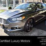 2015 Ford Fusion Titanium Limited Edition Red Interior Stock 8998 For Sale Near Great Neck Ny Ny Ford Dealer