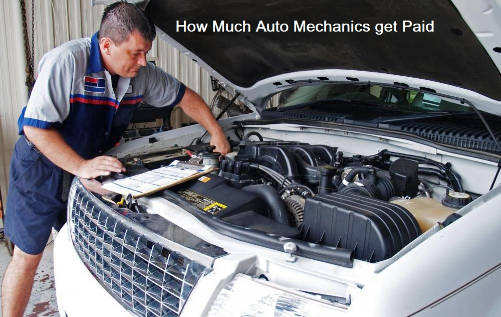 Discover How Much Auto Mechanics Get Paid Car Repair Information From Mastertechmark