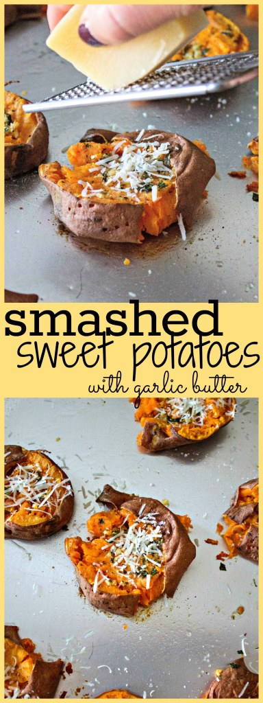 smashed-sweet-potatoes-with-garlic-butter