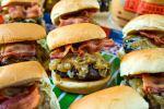 styled shot of Bacon & Gruyere Sliders