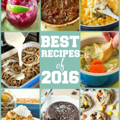 Best Recipes of 2016