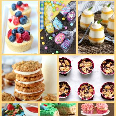 30 Irresistible Springtime Sweets - A collection of 30 sweet recipes that are perfect for Springtime celebrations, including Easter-themed treats, Carrot Cake Treats, Fruity Desserts, and Gorgeous Spring Cakes