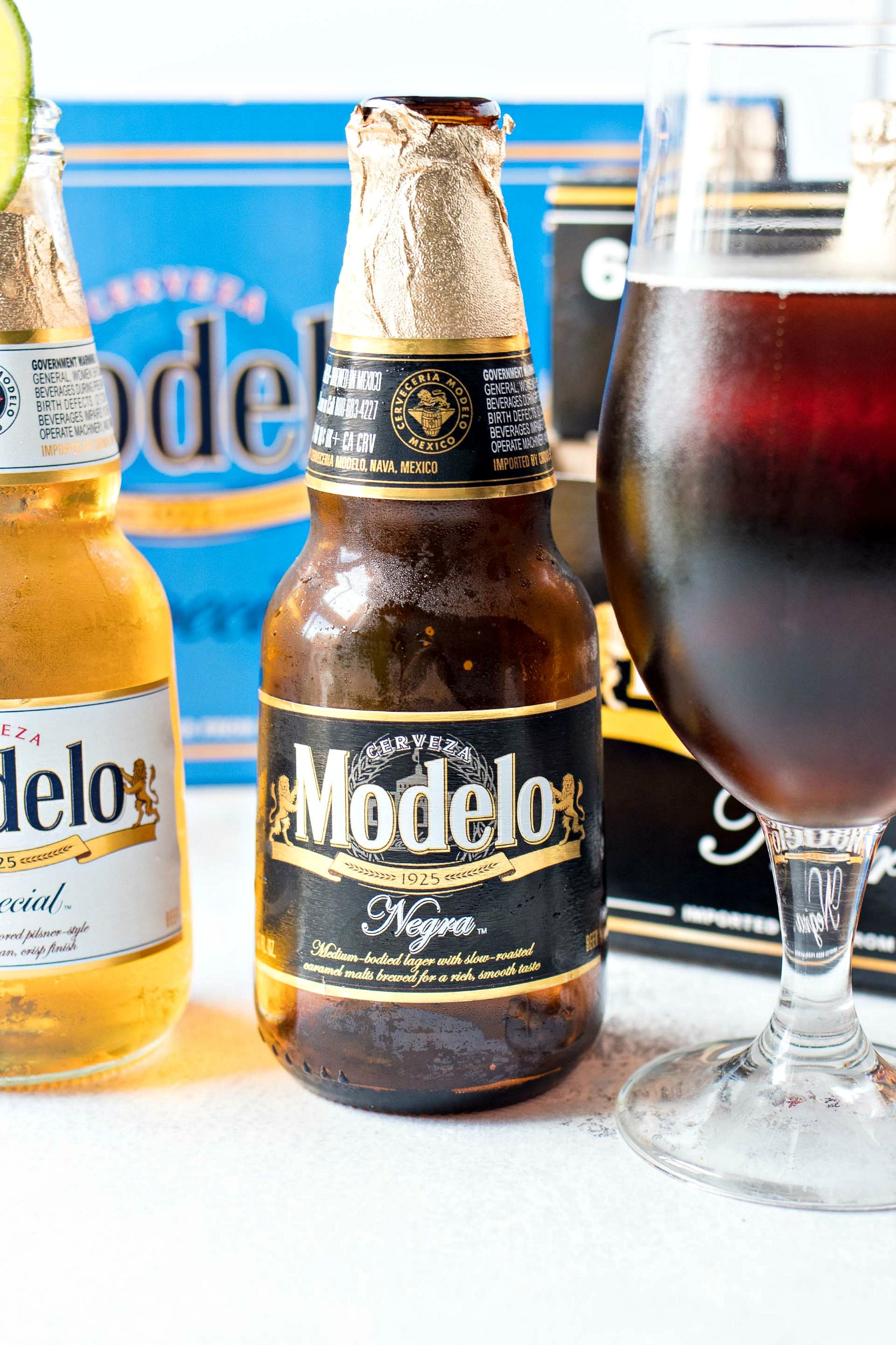 Bottle of Modelo Negro