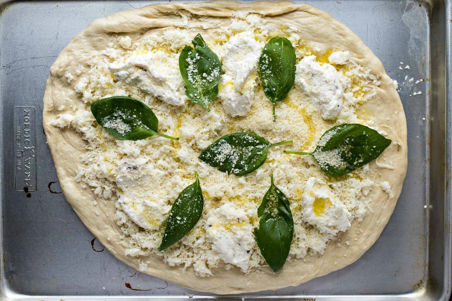 white pizza recept