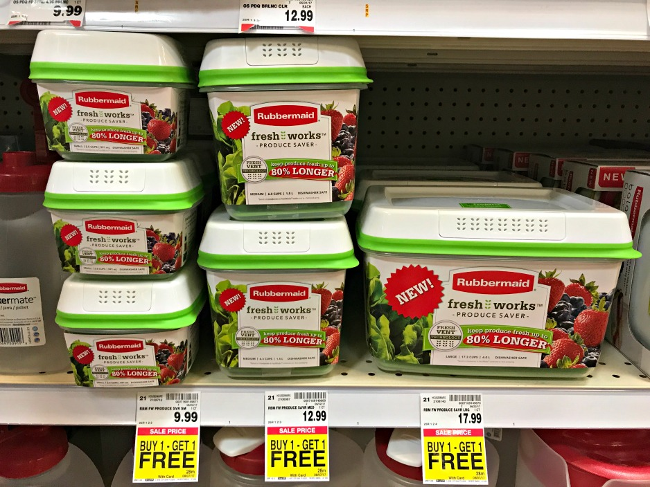 Freshworks product savers in a store aisle