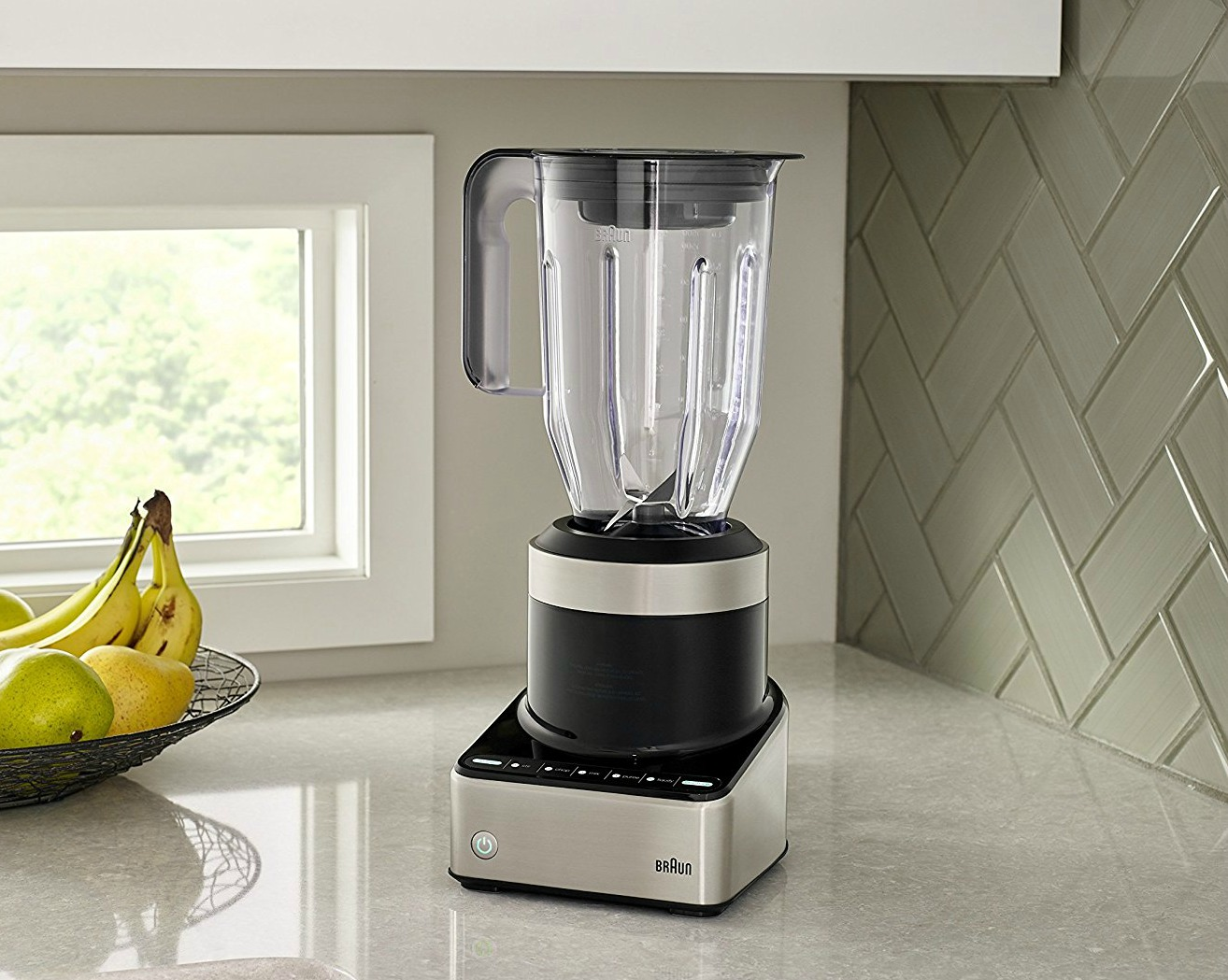 Braun Blender on a kitchen counter