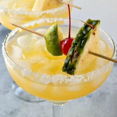 Tropical Red Bull Margaritas