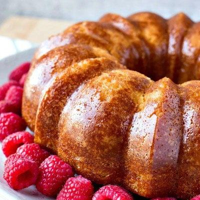 Rum Cake – A delicious bundt cake made from scratch and then soaked with a butter-rum syrup. Not for the faint of heart!