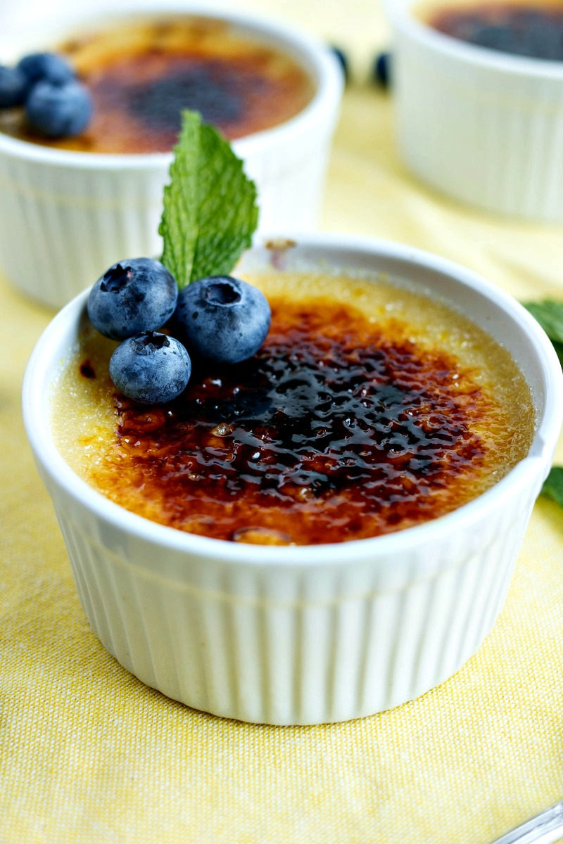 Blueberry Creme Brulee Cpa Certified Pastry Aficionado