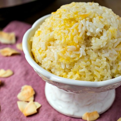 Mango Coconut Sticky Rice (+giveaway!)