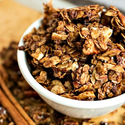 Chocolate Cinnamon Granola