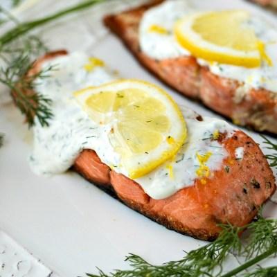 Creamy Dill Salmon