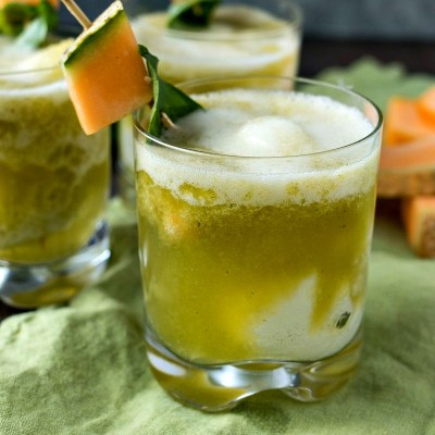 Cantaloupe Basil Float