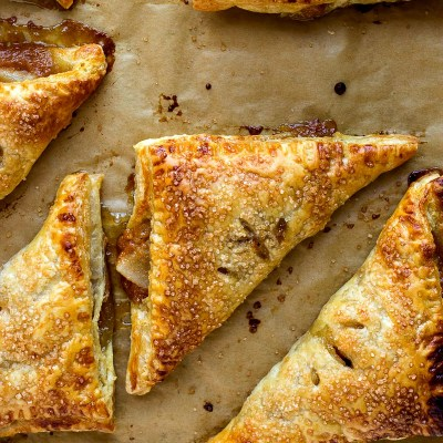 Butterscotch Pear Turnovers