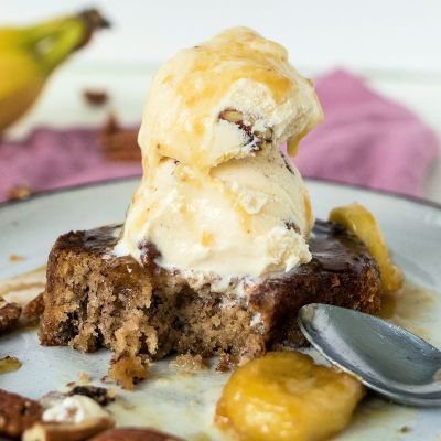 Banana Bread Sundae