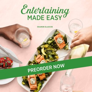 photo of entertaining made easy cookbook available for preorder now