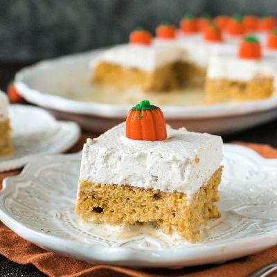 Pumpkin Tres Leches