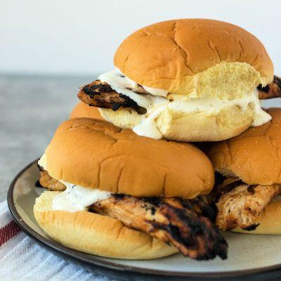 My Favorite Grilled Chicken Sandwich