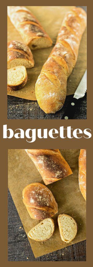collage of baguette photos with descriptive text