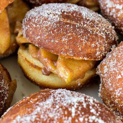 Apple Pie Slider Doughnuts