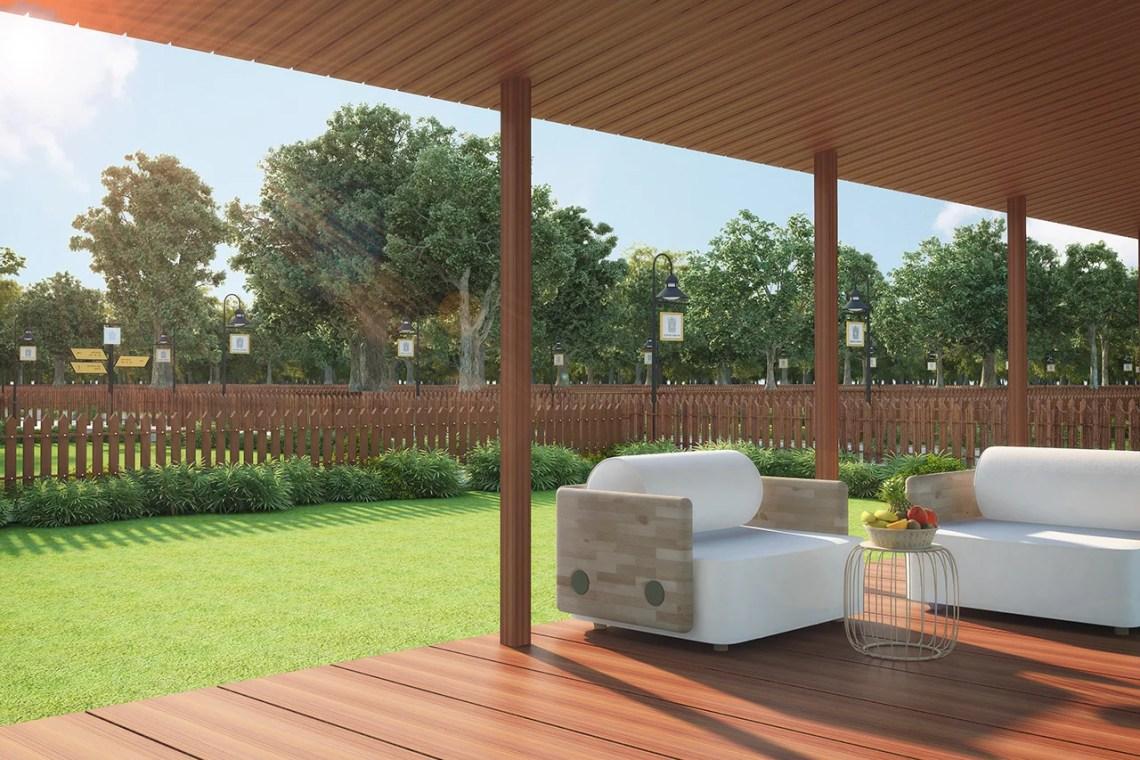 3D Garden Design View