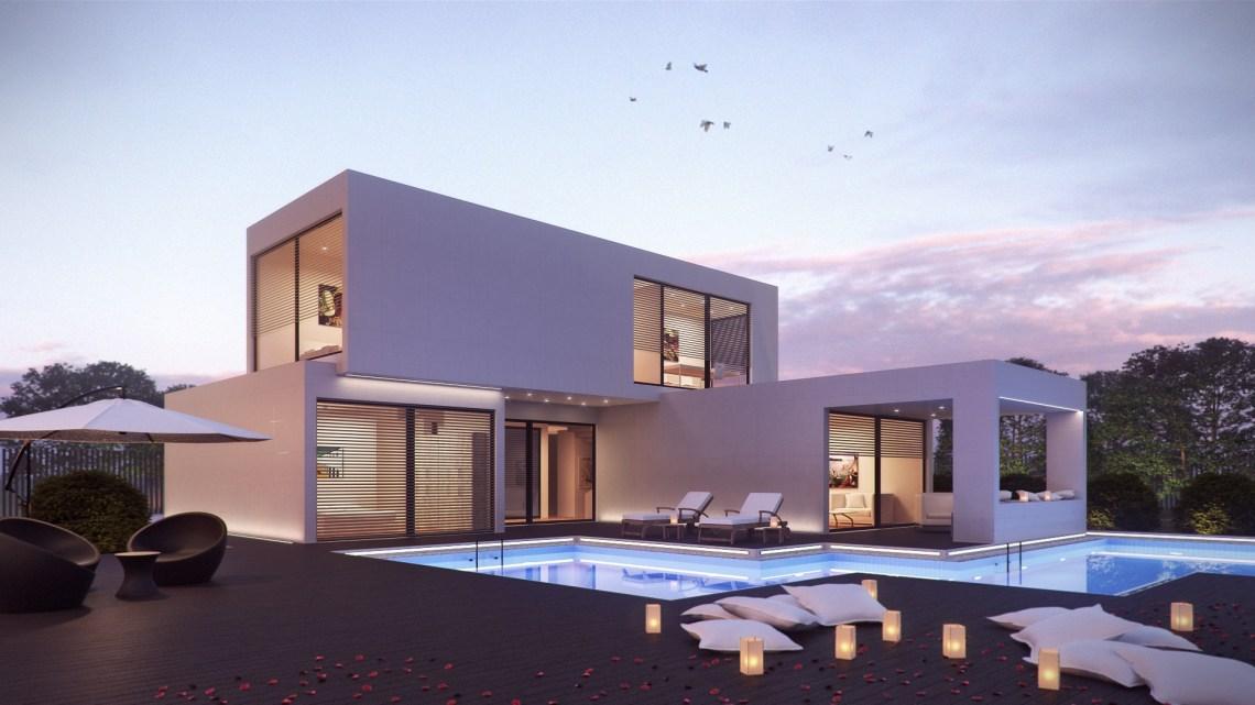 Architecture 3D Exterior Rendering