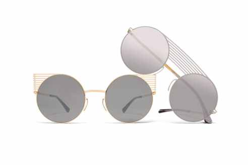 Mykita Studio Campaing - Gold-mirror-black