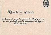 Portada del «Libro de los gorriones» (1868) de Gustavo Adolfo Bécquer. Biblioteca Nacional (Madrid).