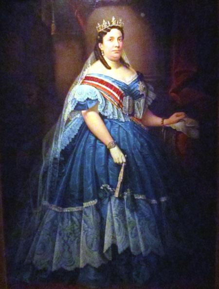 Resultado de imagen para Fotos: 1870: En España, la reina Isabel II abdica del trono.