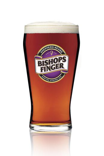 Shepherd Neame Bishops Finger vaso