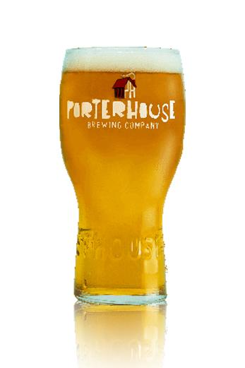 Porterhouse Milkshake IPA vaso