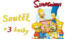 Soutěž s Homerem, Marge, Bartem, Lisou a Maggie o tři knihy