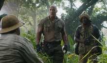 Nový trailer k filmu Jumanji: Vítejte v džungli! s vytuněným Johnsonem a zženštilým Blackem