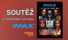 Soutěž o vstupenky do kina IMAX a Cinema City na film Liga spravedlnosti
