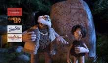 Dětské předpremiéry animáku Pračlověk v Premiere Cinemas, Cinema City, CineStar a GAC