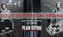 Vyhlášení vítězů soutěžní ankety s filmem Plán útěku o vyladěné čepice a baterky