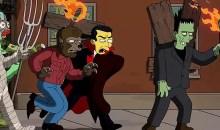 Simpsonovi a gaučový gag od Guillerma del Tora