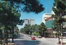 Primi anni '60, Viale 2 Giugno fotografato dalla Rotonda Cadorna