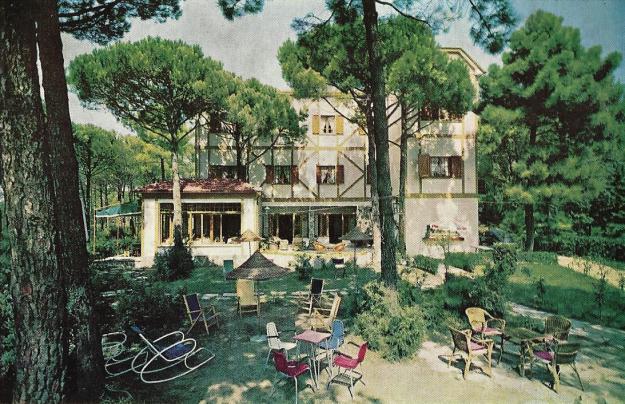 Hotel Locanda dei Pini - Nona Traversa, Fam. Riminucci (oggi villa privata)