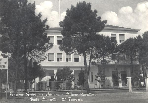 Pensione Adriana - Undicesima Traversa, Fam. Bellagamba (oggi appartamenti)