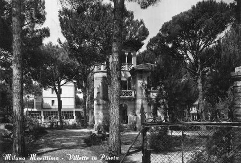 Le vecchie ville di Milano Marittimaa
