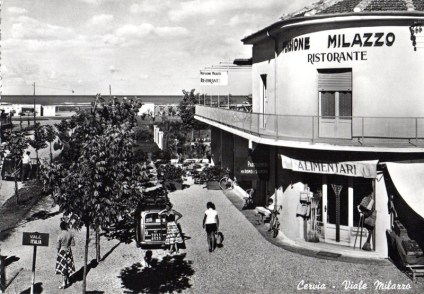 Anni '50, incrocio Viale Milazzo con Viale Italia
