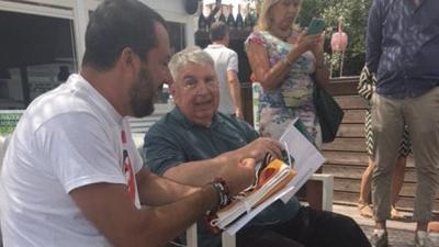 C'era Matteo Salvini a Milano Marittima