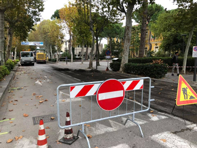 Restyling del Viale Roma