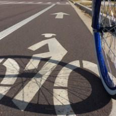 Pista ciclabile in Viale Matteotti