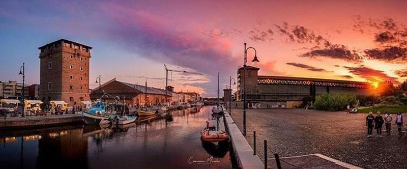 I tramonti più belli a Cervia