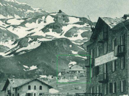 1935 la prima stazione provvisoria